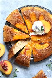 peach upside down cake tutti dolci