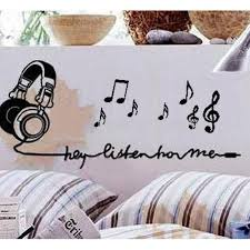 Music Note Home Decor Online Buy Wholesale Music Note Stickers From China Music Note