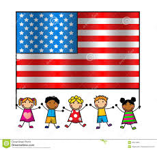 Flag With Bible And Bible Animated Clipart