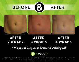 what are wraps amazing results after 1 box of wraps itworks bodywraps