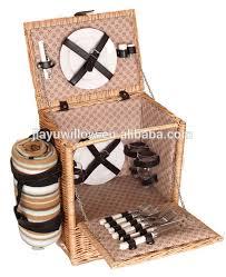 Picnic Basket Set For 4 Handmade Cheap Wicker Picnic Basket Set Mini Picnic Basket Picnic