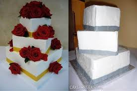 wedding cake disasters forgotten decorations from 15 worst wedding cake disasters the