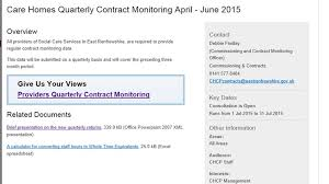 contract monitoring a consistent mechanism to manage risk check
