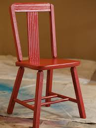 Painting Old Furniture by How To Strip And Repaint A Wood Chair How Tos Diy