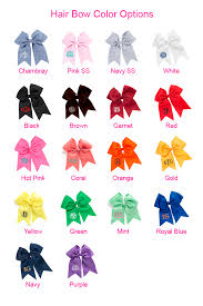 personalized bows personalized preppy oversized hair bows