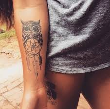 tattoo girl owl image result for simple black and grey owl tattoo ideas tatoos
