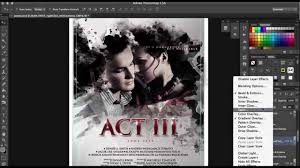 poster design with photoshop tutorial how to make a film poster in photoshop in minutes with no photoshop