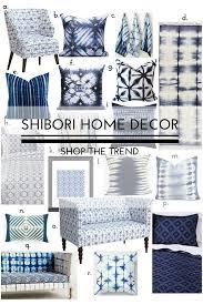 shibori dye printed home decor shop the trend u2014 sarice amiee