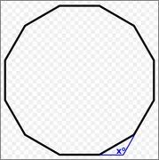 What Is The Interior Angle Of A Regular Decagon Geometry Decagon