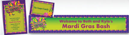 personalized mardi gras custom mardi gras invitations personalized mardi gras products
