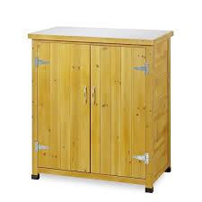 armadietto esterno armadietto da esterno in legno con piano lavoro per giardinaggio
