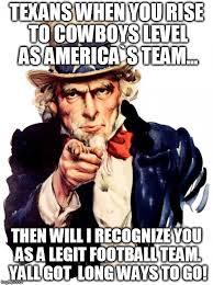 Texans Memes - uncle sam meme imgflip