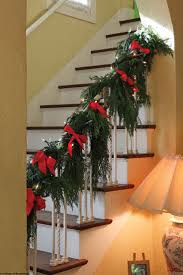 Banister Christmas Ideas 58 Best Christmas Staircase Banister Holiday Decorating Images On