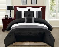 bedding set contemporary black and white bedding at walmart