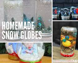 13 snow globes for your winter decor craft paper scissors