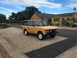 land rover classic for sale land rover range rover 1986 3d cars pinterest range rovers