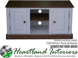 Solid Pine Furniture Solid Pine T V Cabinet Handcrafted U0026amp Waxed Tv Stand Multi