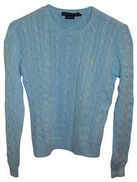 ralph lauren light blue ralph lauren light blue sweater pullover size 8 m tradesy