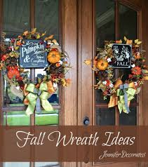 Fall Wreaths Wreaths For Fall Learn To Make A Wreath
