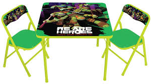 nickelodeon activity table and chairs tmnt toys u0026 games