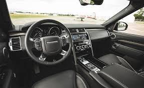 Auto Interior Com Reviews 2017 Land Rover Discovery In Depth Model Review Car And Driver