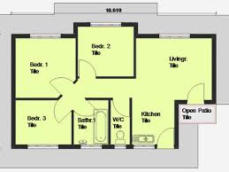 three bedroom house plans exclusive inspiration 9 three bedroom house plans free 3 homeca