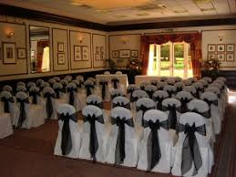 black chair sashes wedding chair cover hire banquet wedding chair slip cover