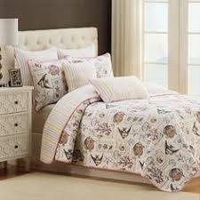 Queen Quilted Coverlet Luxury Bedding Nicole Miller Bedspread Set Quilt Coverlet Full