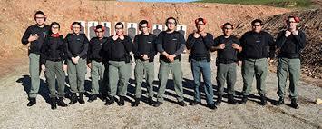 sjvc fresno programs fresno criminal justice corrections students practice gun use