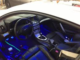 Dodge Challenger Interior Lighting 2010 G37 Coupe Customized High End Car Stereos U0026 Alarms