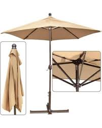 Half Umbrella For Patio Get The Deal 10 Ft Battery Operated Led Light Half Wall