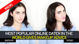 Dating site     s most desired woman reveals the astonishing messages     Video thumbnail  Most popular online dater in the world gives makeup advice