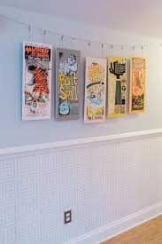 hang poster without frame a sentimental comfy renovated former foreclosure band posters