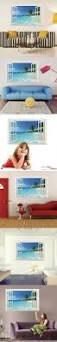 best 25 modern wall stickers ideas on pinterest modern wall modern wall art home decoration wall stickers 3d removable decals beautiful beach seascape false window 3d wall decal