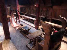 a workshop fit for a chieftain building a viking bowyer u0027s