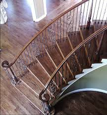 Refinish Banister Railing Stair Remodel And Cabinet Remodeling By All Things Interior Martinez