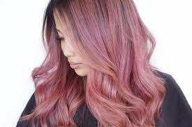 rose gold hair color mane addicts rose gold hair color archives mane addicts