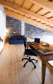 26 pictures of home office study designs occupying a natural wood