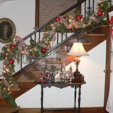 mesh ribbon table decorations decorating stairs with mesh ribbon american christmas tree christmas