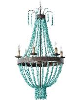 turquoise beaded chandelier turquoise chandelier lighting deals