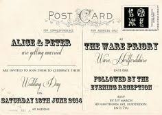 wedding invitations ebay personalised shabby chic vintage western union telegram wedding