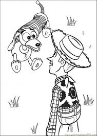 toy story coloring sheets alltoys