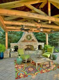 Traditional 10 Backyard Veranda Ideas On Covered Patio Backyard by 10 Inexpensive Ways To Update Your Outdoor Space Porch Fans