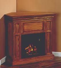 fresh corner electric fireplace tv stand oak 6138