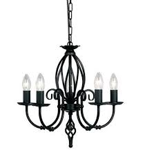 Small Black Chandelier Elstead Artisan 5 Light Black Chandelier Art5bk Luxury Lighting