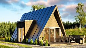 a frame house affordable duo75 a frame house can be built by just two