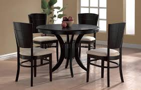 small espresso dining table innovative ideas round espresso dining table pretentious design