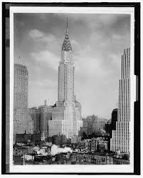 vintage photograph from 1930 shows new york city s chrysler
