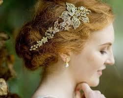 wedding headpiece gold gold headpieces jules bridal jewellery