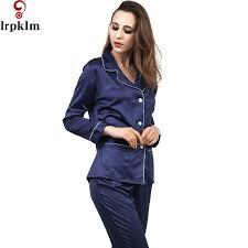 2017 solid navy sleeve shirt sleepwear homewear